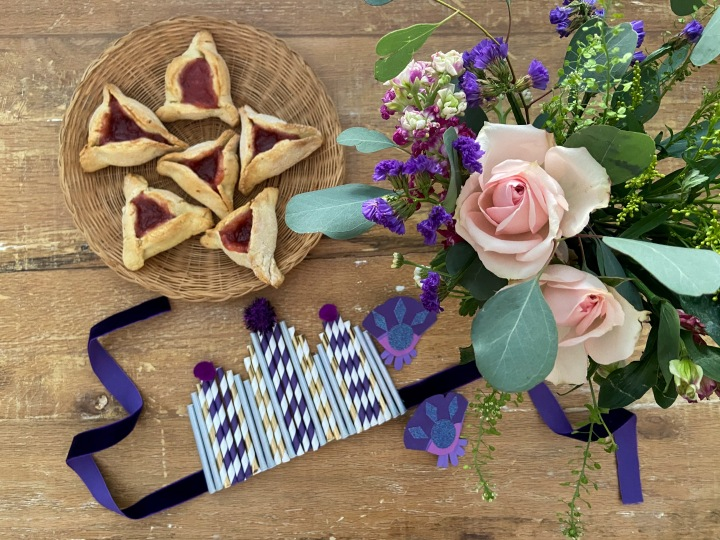 Purim, Pastries, & PaperCrowns