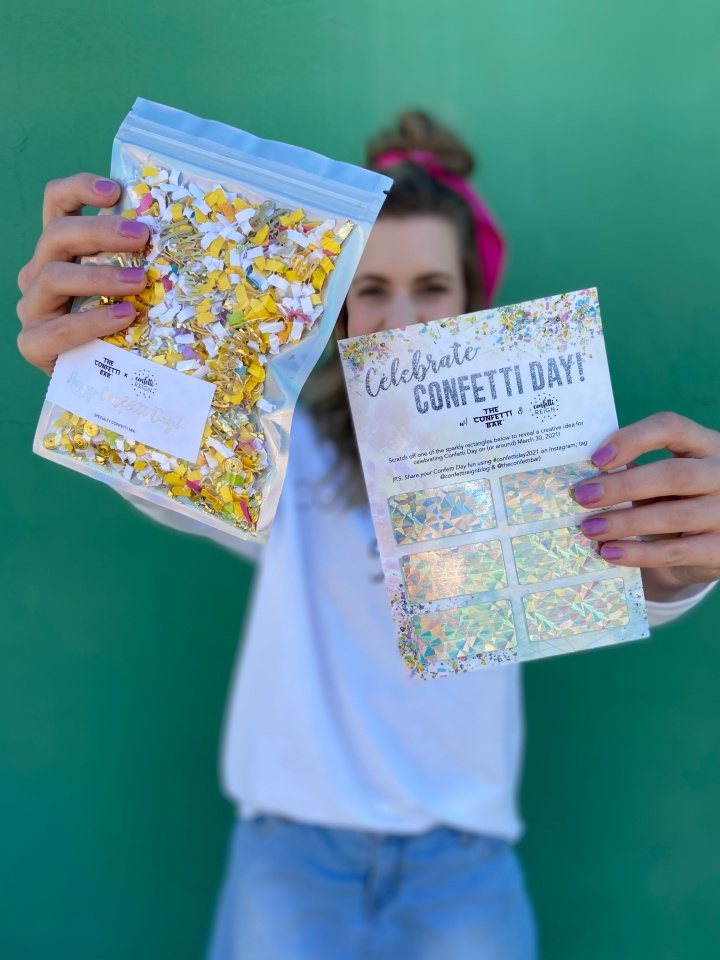 Confetti Day Collab
